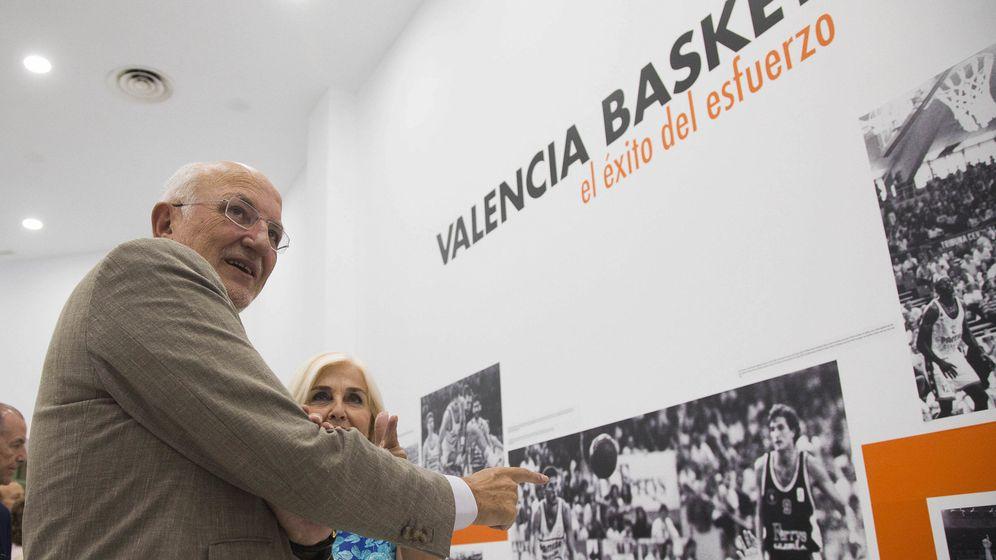 Foto: Juan Roig, en un acto del Valencia Basket. (EFE)