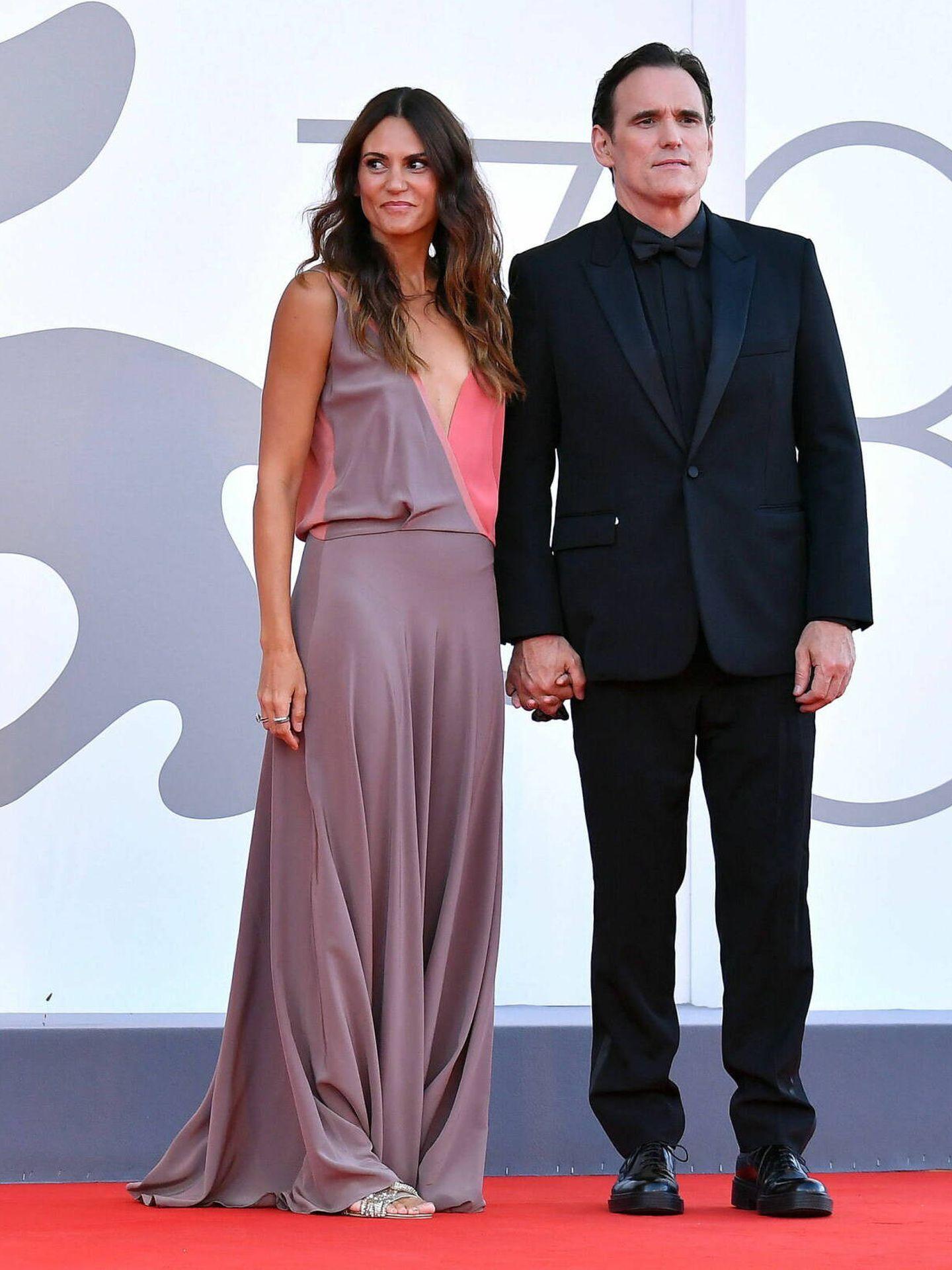 Roberta Mastromichele y Matt Dillon. (EFE)