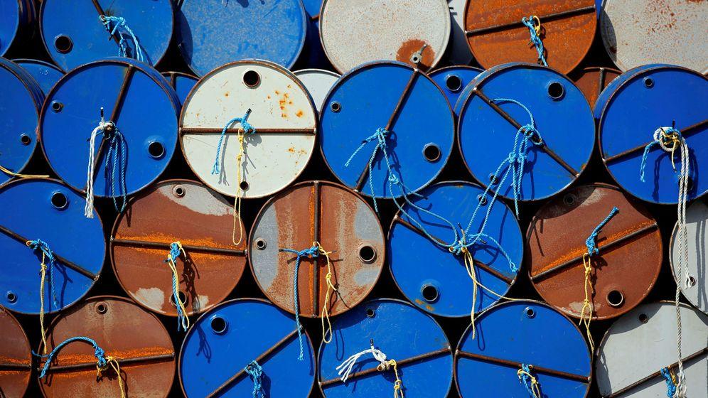 Foto: Barriles de crudo. (Reuters)