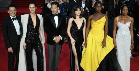 Foto de Ana de Armas y Daniel Craig deslumbran en la premier de Bond: todos los looks de la velada
