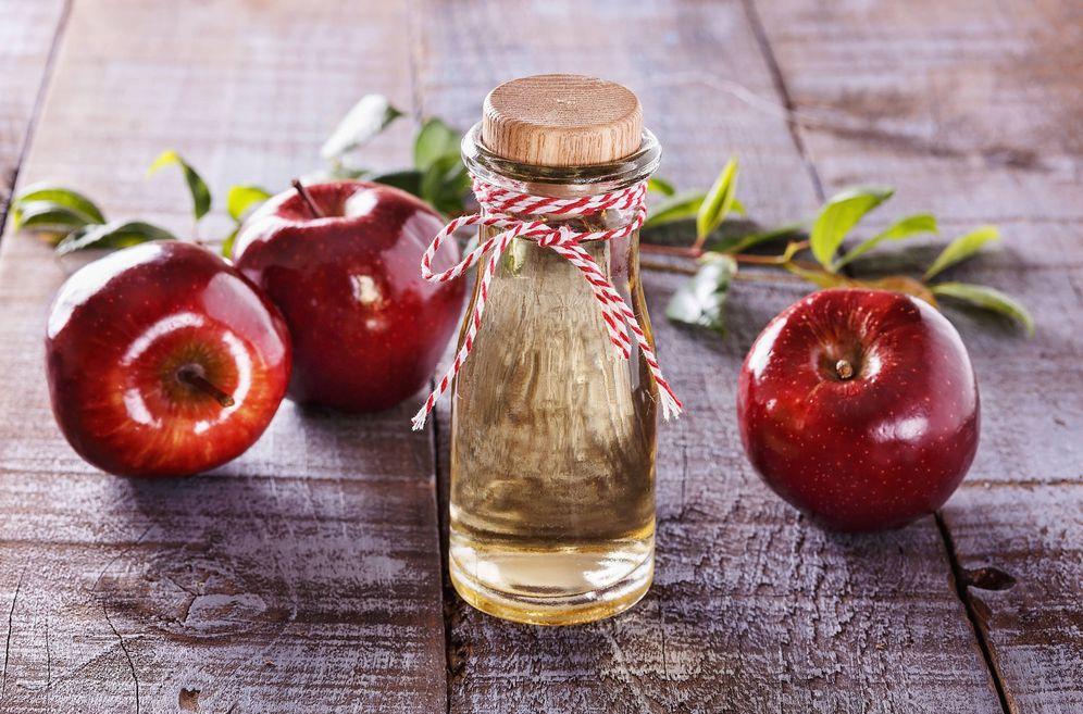 Foto: Vinagre de manzana. (iStock)
