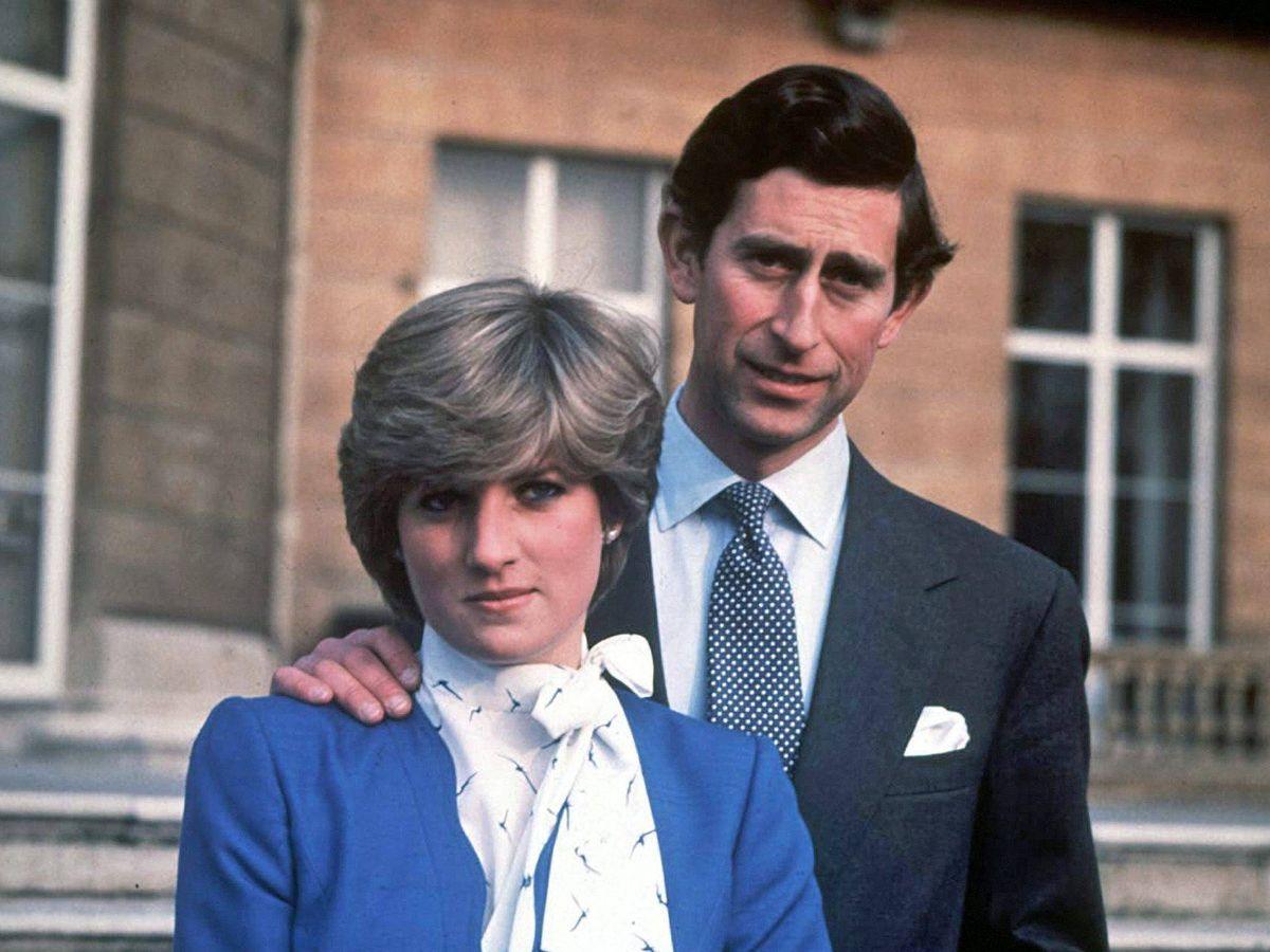 Foto: Diana y Carlos, en 1981. (EFE)
