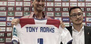 Post de Tony Adams avisa al plantel del Granada: