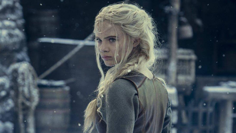 Ciri (Freya Allan) en la segunda temporada de 'The Witcher'. (Netflix)