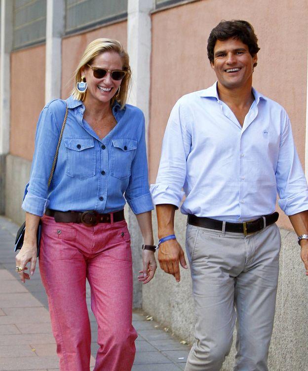 Foto: Fiona Ferrer y su novio, Javier Fal-Conde, en una imagen de archivo. (Cordon Press)
