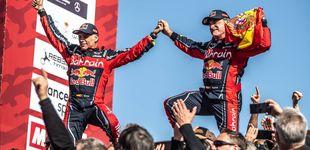 Post de El 'déjà vu' de Carlos Sainz con la bandera española y su incierto futuro como piloto