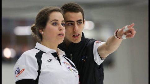 Los García, la familia vasca que recorre el mundo jugando al curling por España