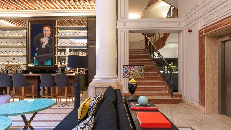 El hotel Eugenia de Montijo, en el palacio que fue de la emperatriz. (Cortesía)