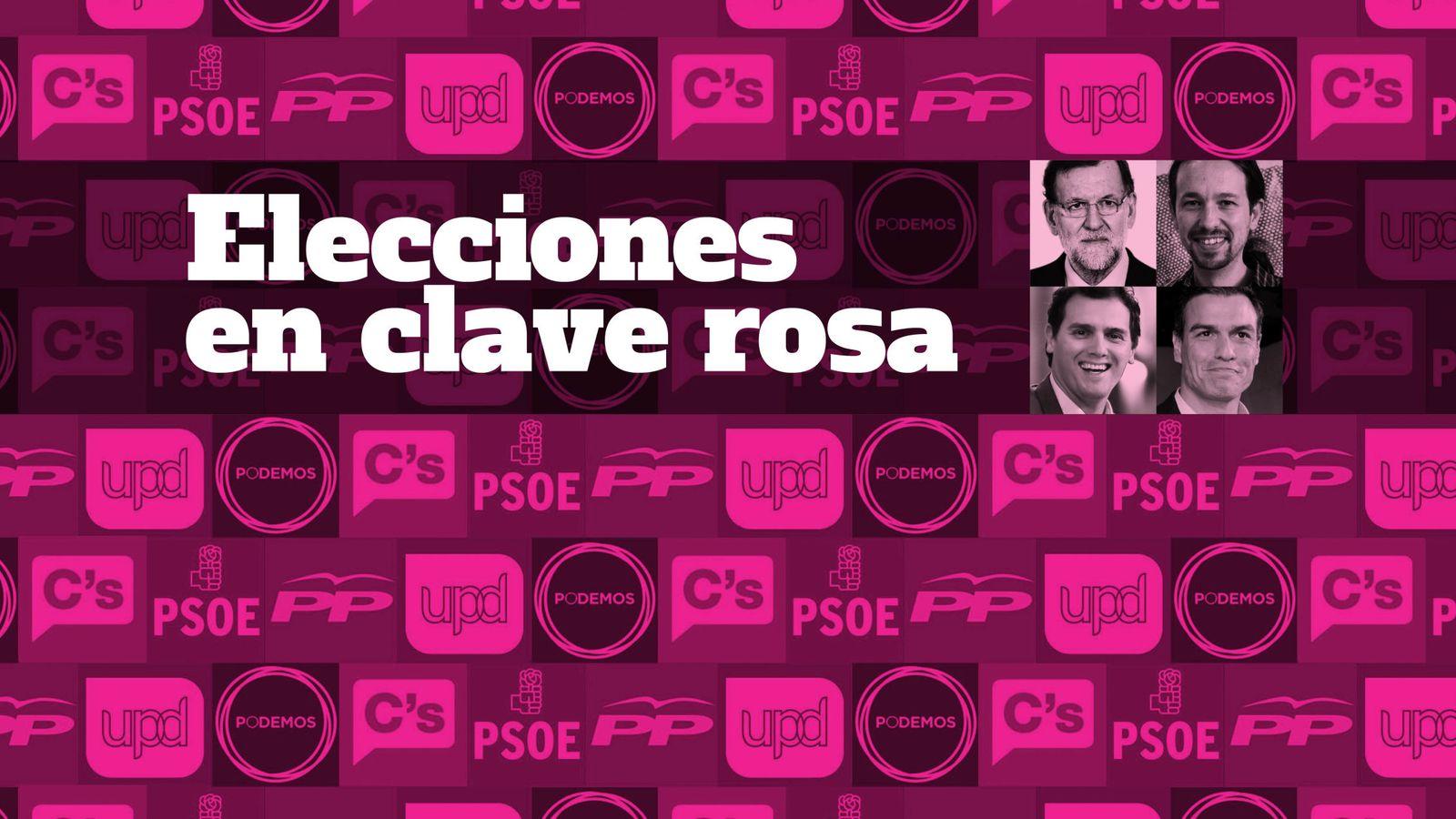 Foto: Elecciones en clave rosa
