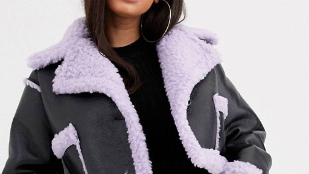 Calentitos, suaves y a la moda, así son los mejores abrigos de borreguito de Asos