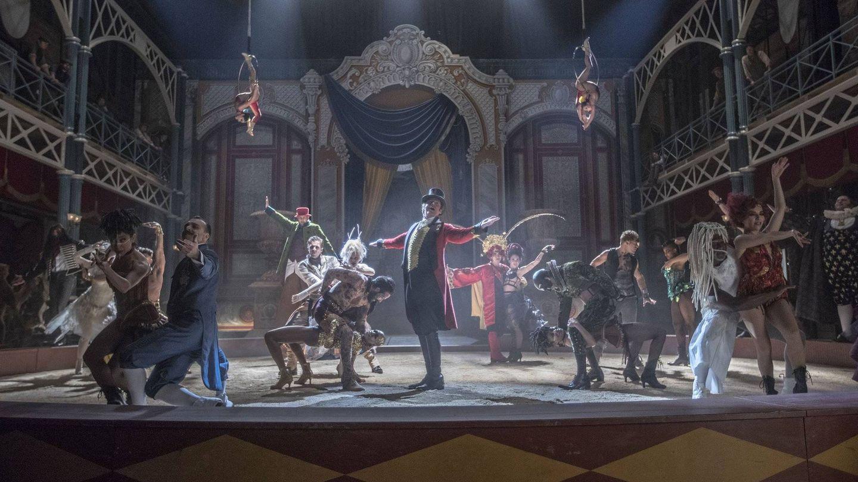 Secuencia de 'El gran showman'.
