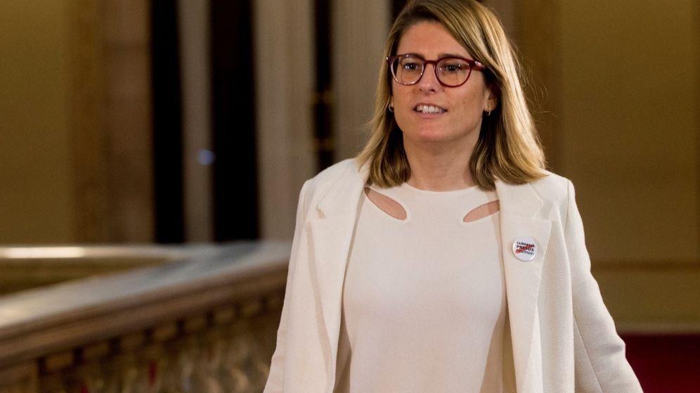 Foto:  La portavoz del grupo parlamentario de JxCat, Elsa Artadi. (EFE)