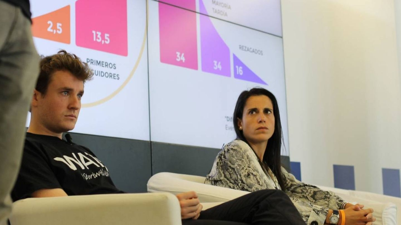 Rosell, en el seminario sobre 'Emprendimiento, Deporte y Tecnología' celebrado este junio en el País Vasco. (@arosell10)