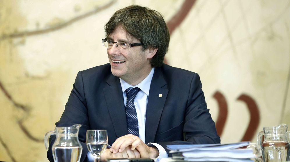 Foto: Última reunión del presidente de la Generalitat antes de las vacaciones de verano