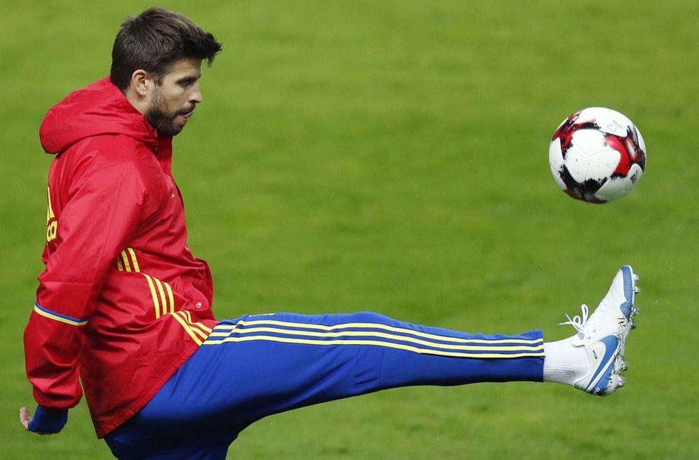 Selección Española de Fútbol: Piqué: La persona que imputó a Neymar ...