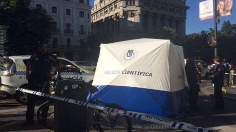 Muere el primer usuario de bicis turísticas de Madrid atropellado por un camión