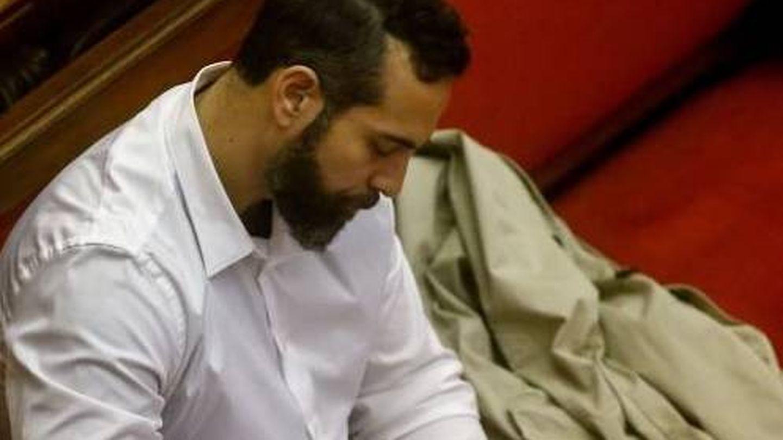Albert López, uno de los acusados por el 'crimen de la Guardia Urbana' (EFE)
