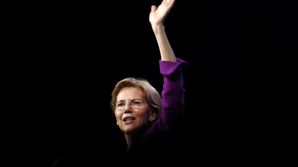 Foto: La senadora Elizabeth Warren (REUTERS)