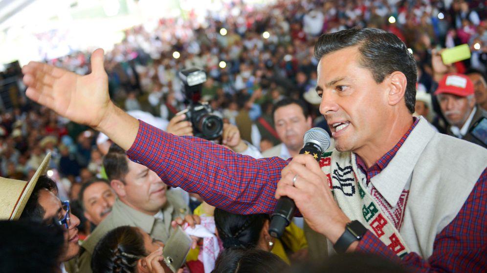 Foto: Acusan al presidente mexicano, Peña Nieto, de plagiar su tesis. (EFE)