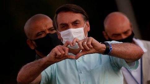 Brasil marca otro récord de nuevos casos mientras Bolsonaro sigue dando positivo
