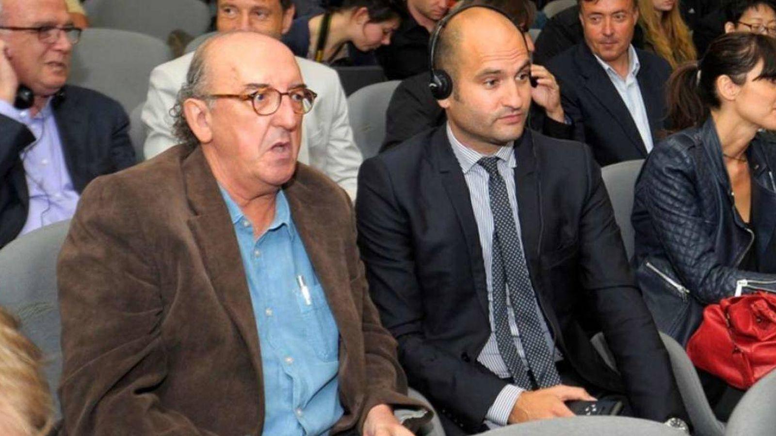Foto: Jaume Roures y Pere Guardiola