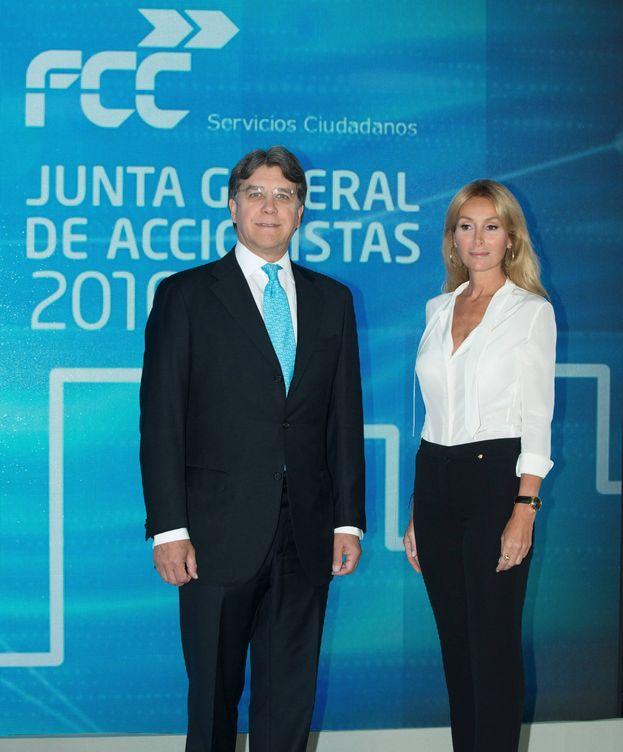 Foto: CEO de FCC Carlos M. Jarque y  Presidenta de FCC  Esther Alcocer Koplowitz