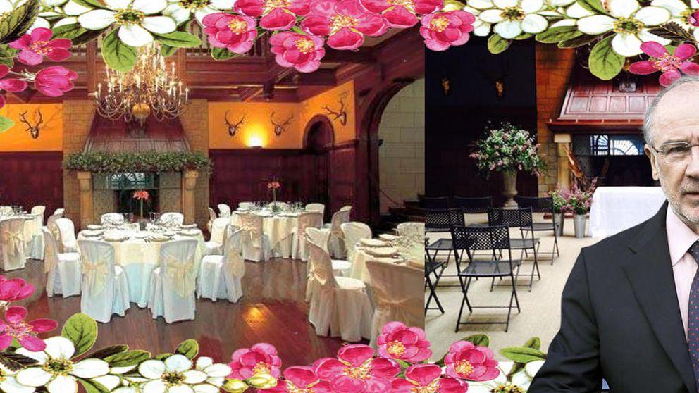 Contraiga matrimonio (de alto copete) en el palacio de Rodrigo Rato