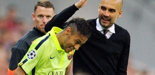 Post de Lo dijo Cruyff y lo pensaba (sin decirlo) Guardiola: Neymar, de gallo a gallina
