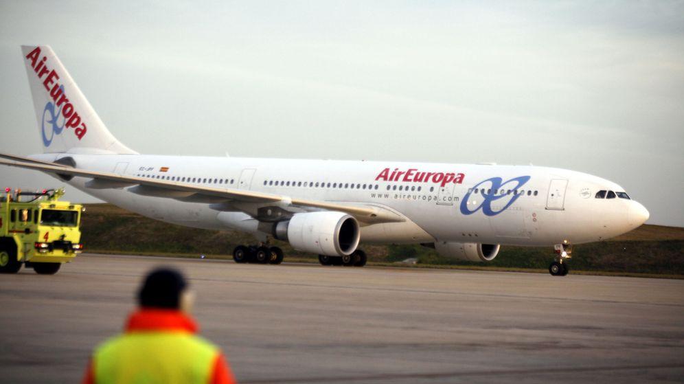 Foto: Un avión de la compañía Air Europa. (EFE)