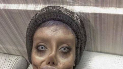 Angelina Jolie tiene una doble iraní gracias a sus 50 operaciones de cirugía