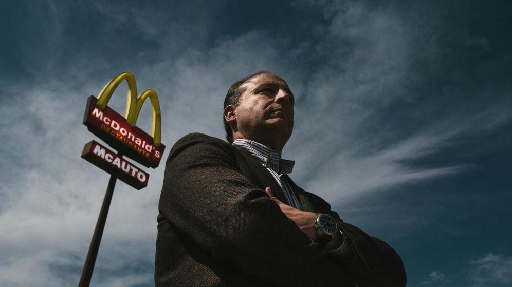Foto: Luis Cañizares, el 'franquiciado rebelde' de McDonald's (Foto: Pablo López Learte)