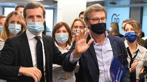 Feijóo avisa en Génova: Con un PP templado el populismo no entra en el Parlamento