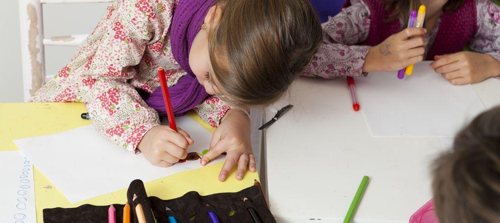 Foto: Dibujos solidarios para recaudar fondos para los comedores escolares de España