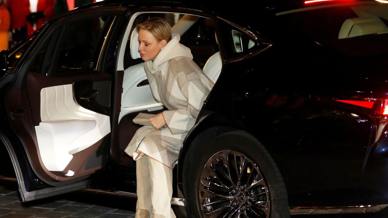 Charlène, a su llegada. (Reuters)