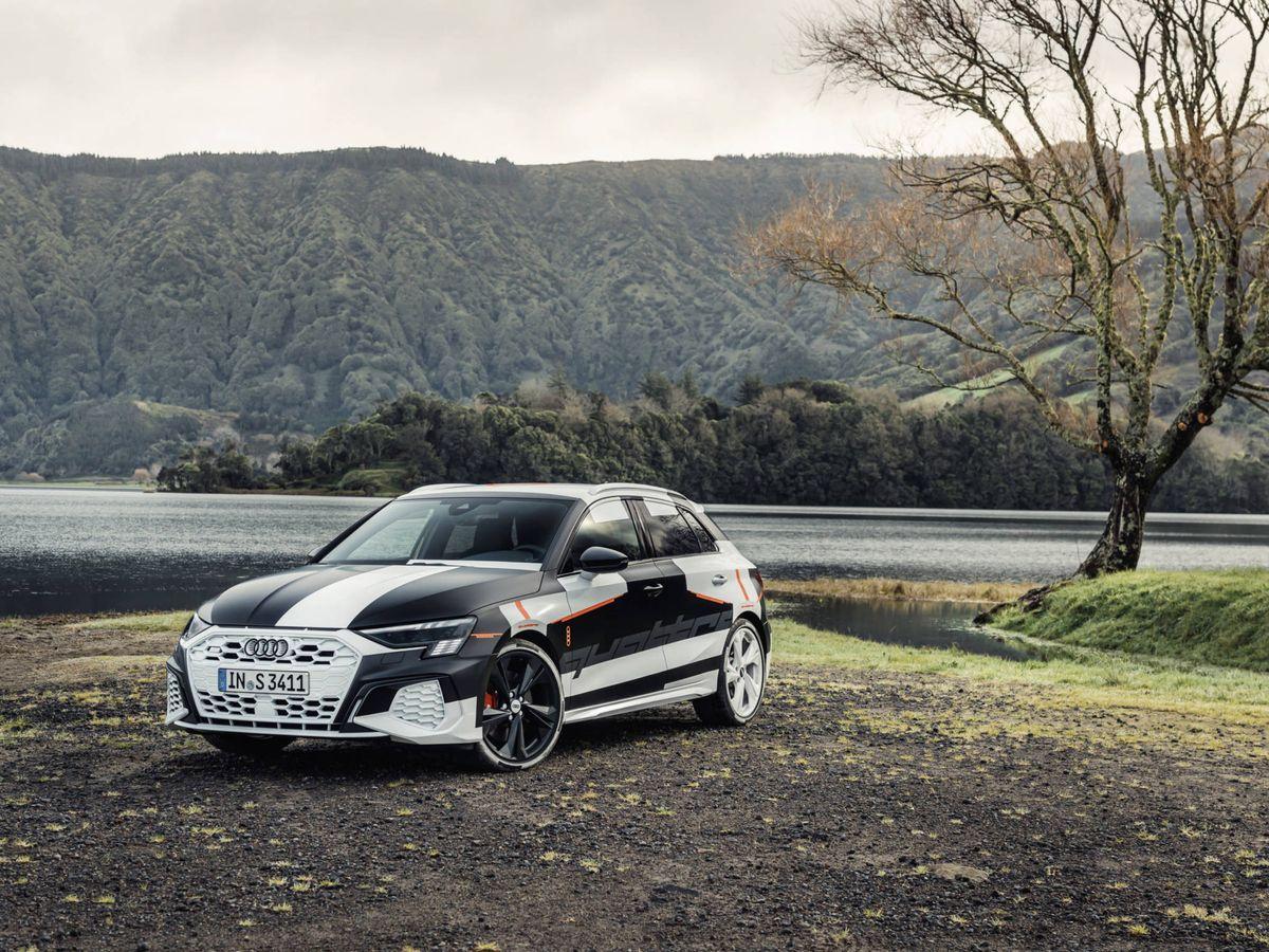 Foto: El Nuevo Audi A3, en la imagen todavía con camuflaje, iba a ser uno de los protagonistas en Ginebra.