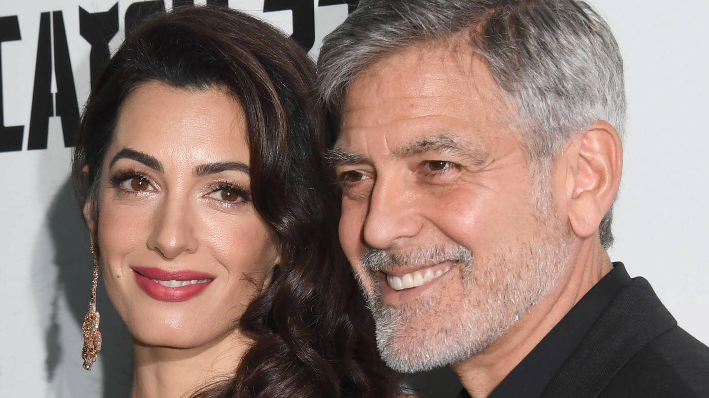 Amal y George Clooney. (Getty)