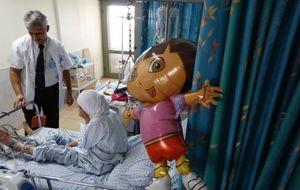 Los pacientes de la guerra de Siria, tratados en hospitales del 'enemigo'
