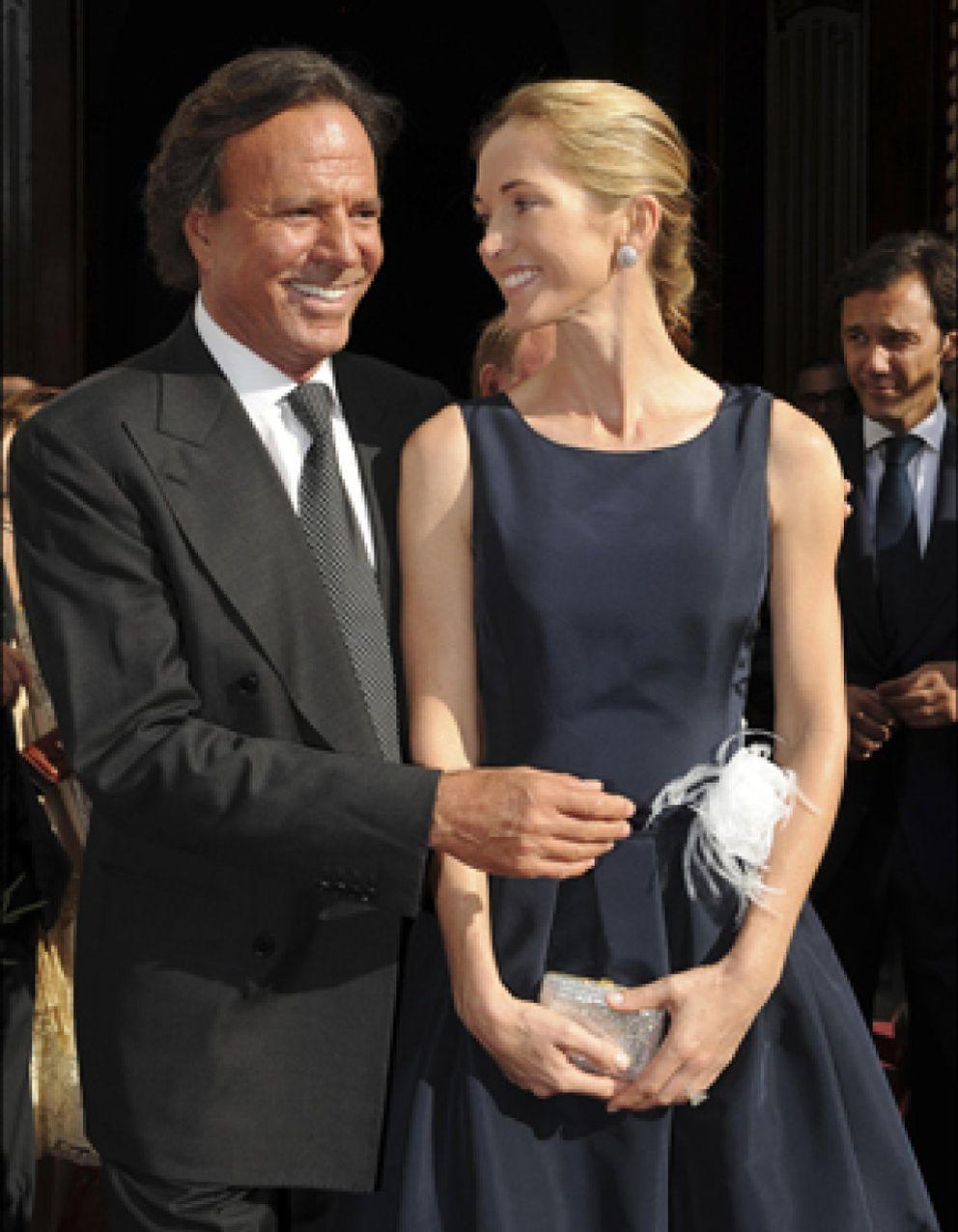 Foto: Julio Iglesias se casa con Miranda tras 20 años juntos