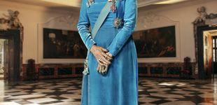 Post de La tiara, el vestido...: los detalles del nuevo retrato oficial de Margarita de Dinamarca