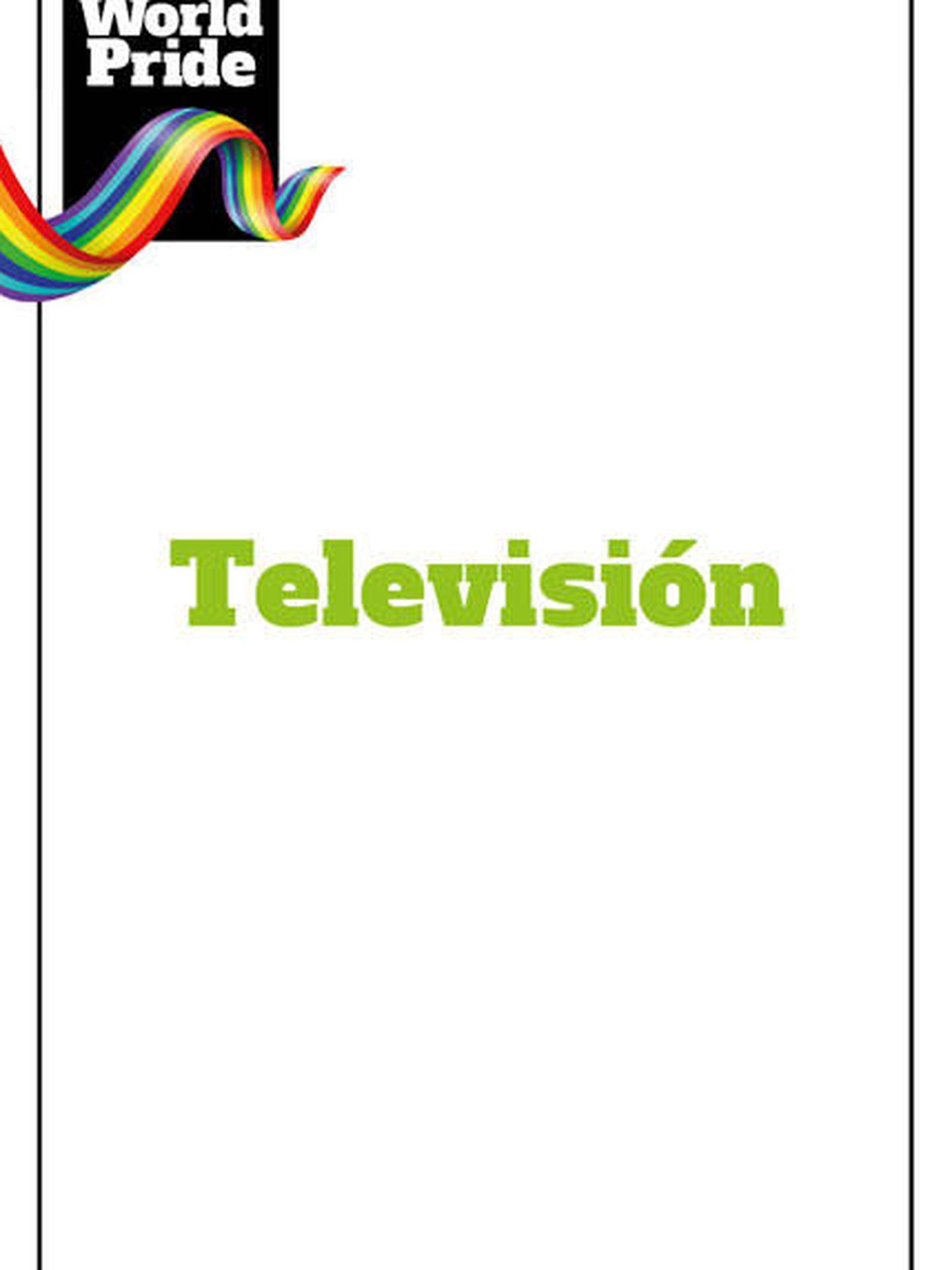 Orgullo LGTBI 2017: Televisión.