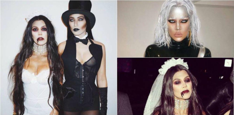 Las Kardashian, irreconocibles con sus disfraces de Halloween