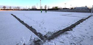Post de El Madrid se la juega esta noche en unas instalaciones congeladas y sin licencia