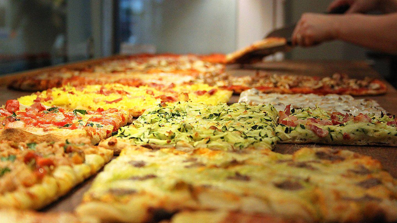 Pizza tipo taglio. (iStock)