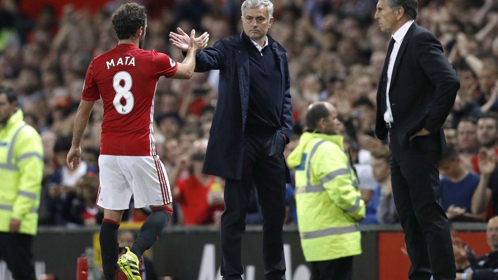 Mou recula con Mata: Yo no le vendí y en el United es muy buen jugador