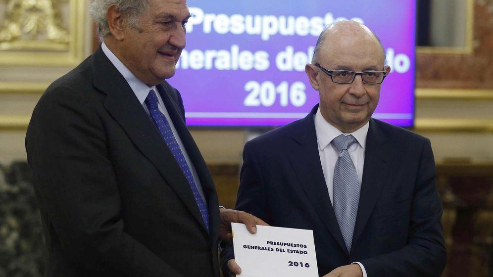 Foto: Montoro defenderá en solitario los Presupuestos Generales del Estado 2016 (EFE)