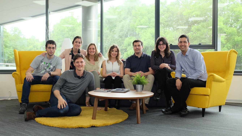 Foto:  David Barroso, en el centro de la imagen, es el fundador y CEO de Countercraft.