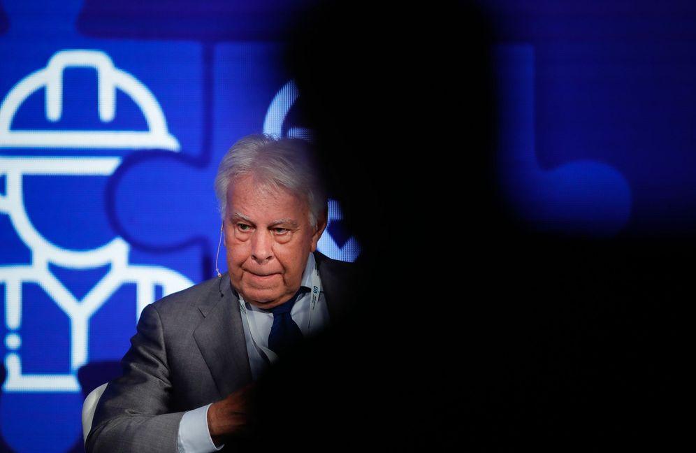 Foto: Felipe González, el pasado 28 de noviembre en Buenos Aires, Argentina. (EFE)