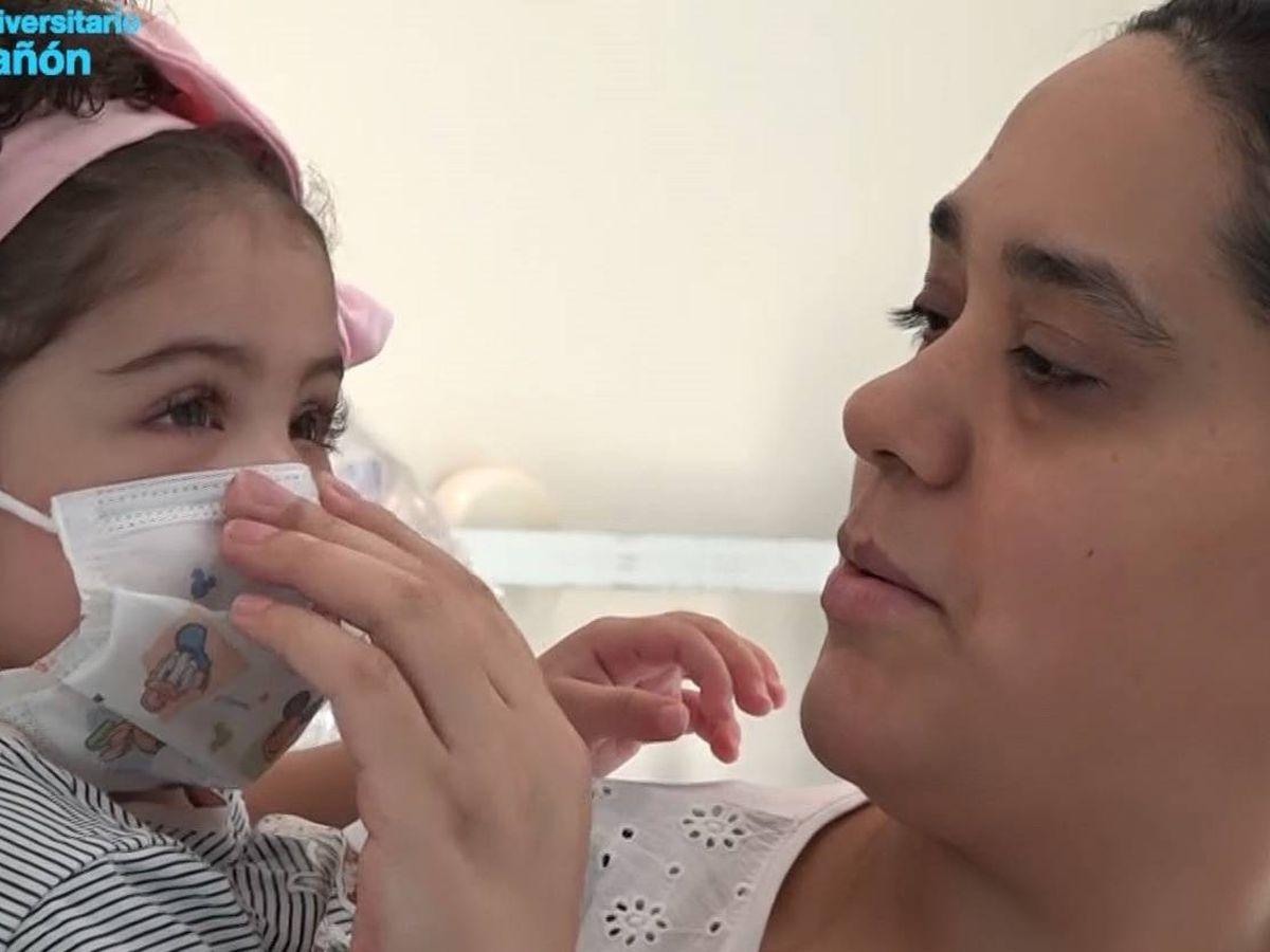 Foto: El Marañón da el alta a la niña a la que se realizó un trasplante de corazón en plena pandemia Covid-19