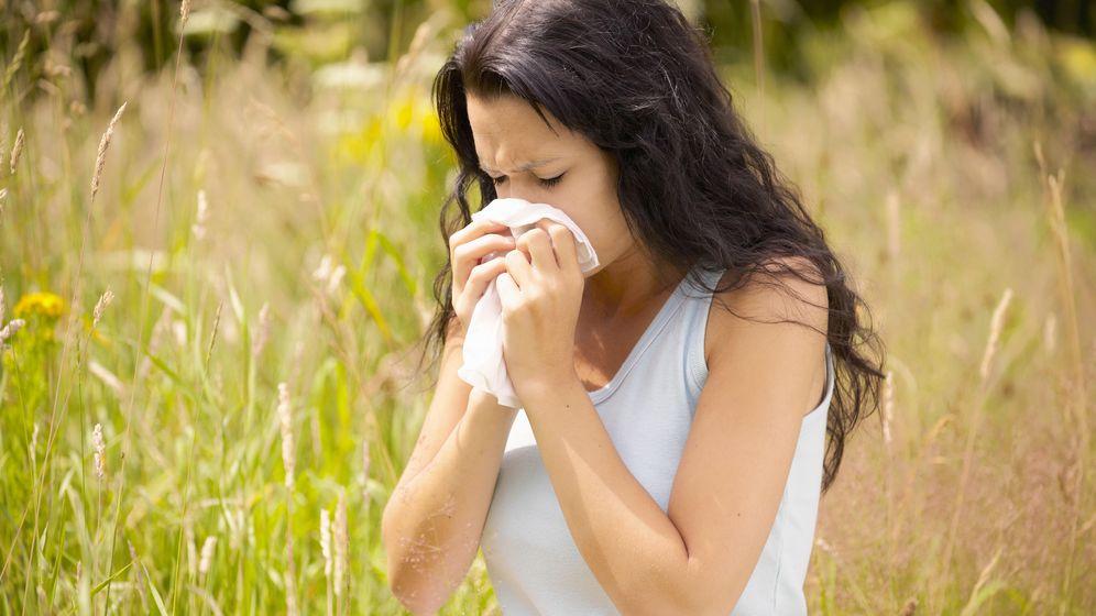 Foto: La alergia nos ataca principalmente en primavera. (Corbis)