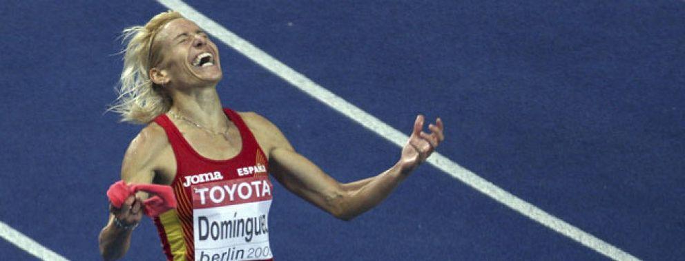 Marta Domínguez logra el oro en los 3.000 obstáculos